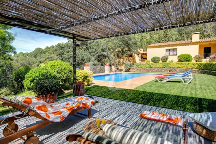 405 CASA CON PISCINA PRIVADA EN SA RIERA Villa privée Sa Riera Begur