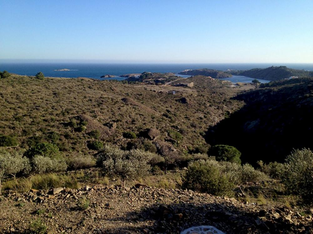 Exclusiva finca con magníficas vistas al mar.