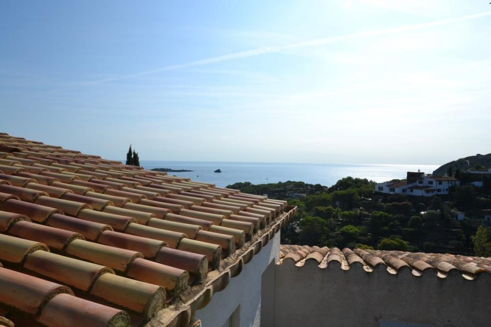 Casa con fantásticas vistas al mar.