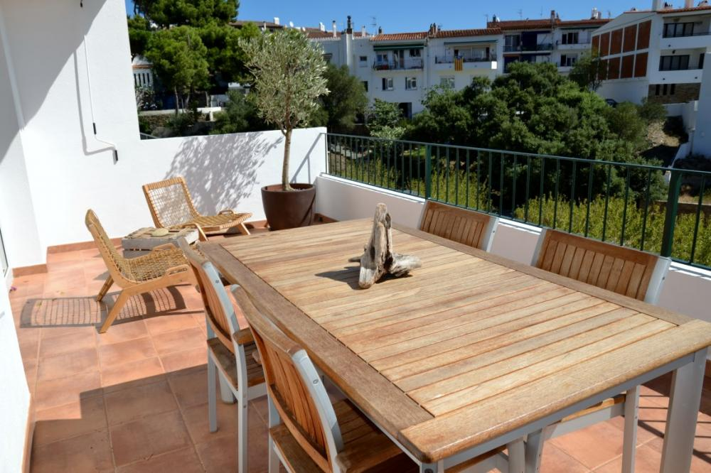 101.61 S Aguarda Heretat Apartamento con dos dormitorios y terraza con vistas al mar Appartement Carretera Port Lligat Cadaqués