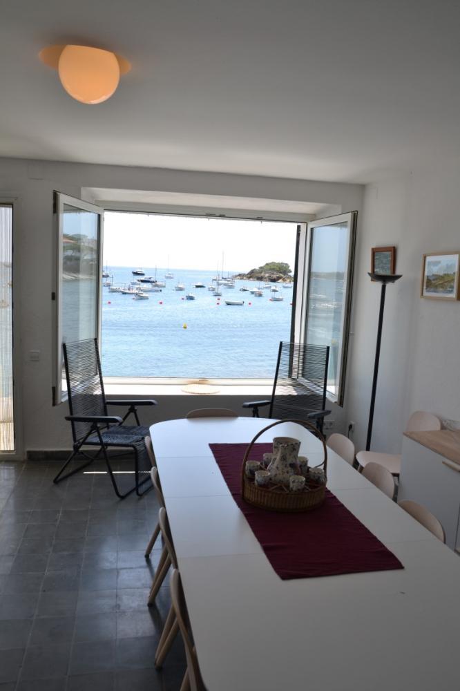 102.23 Sa Cueta Casa en primera línea de mar, delante de la playa de Sa Cueta. Apartament Sa Cueta Cadaqués