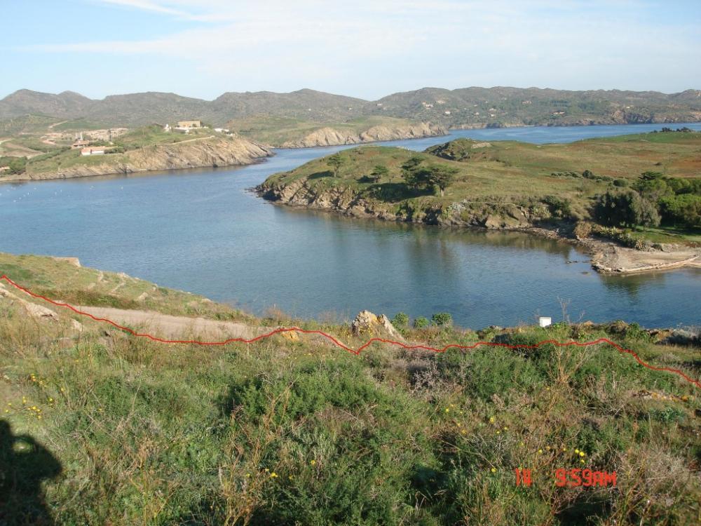 Parcela con excelente vista al mar en la zona Es Caials.