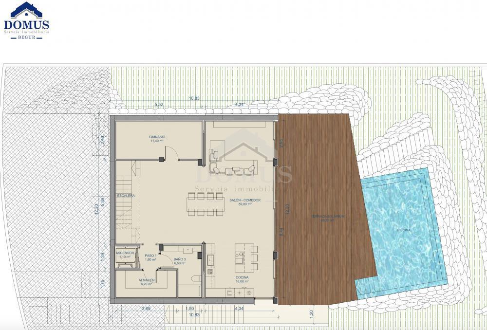 2219 Casa Gregal Casa aislada Centre Begur