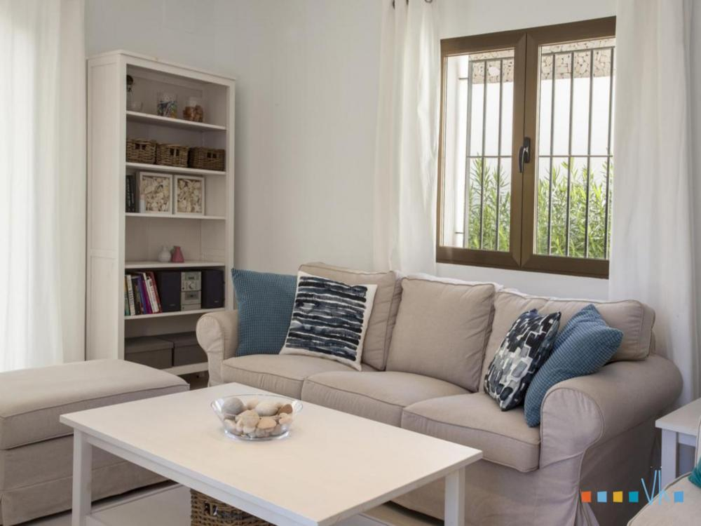 Villa ALOSA with a comfortable and modern living room in Benissa