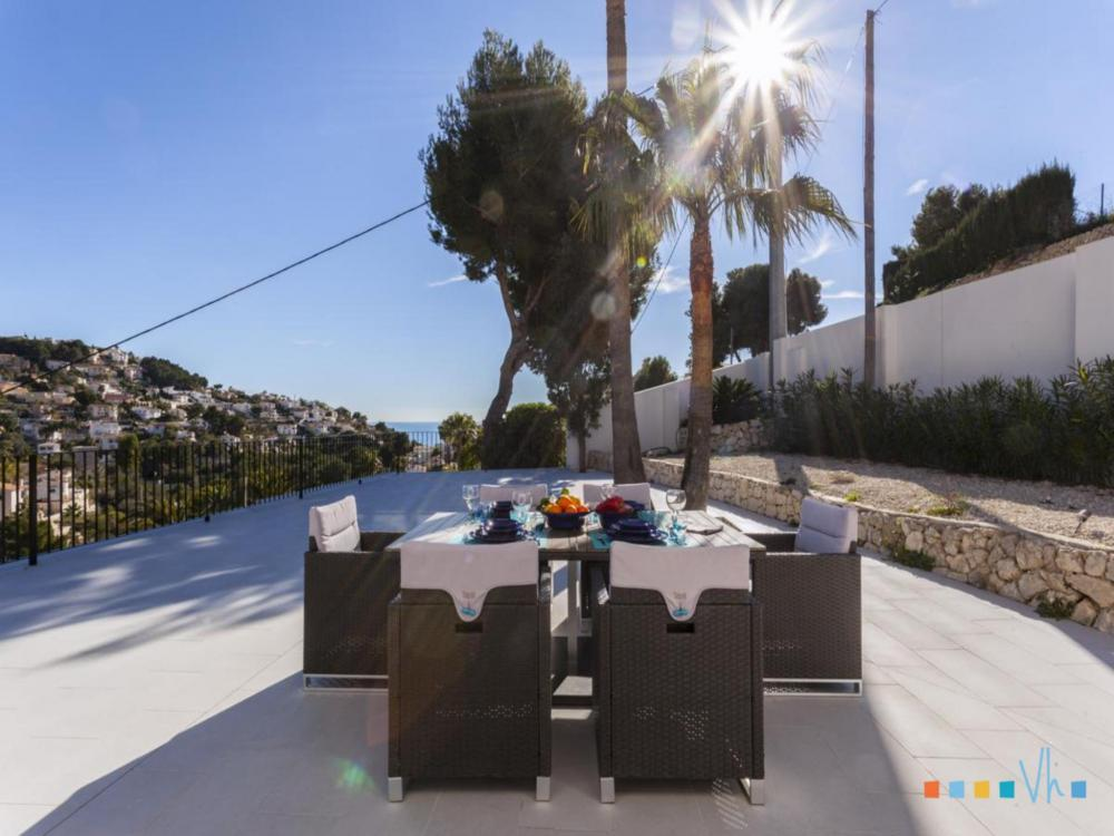Villa ALOSA in Benissa with garden furniture and nice views