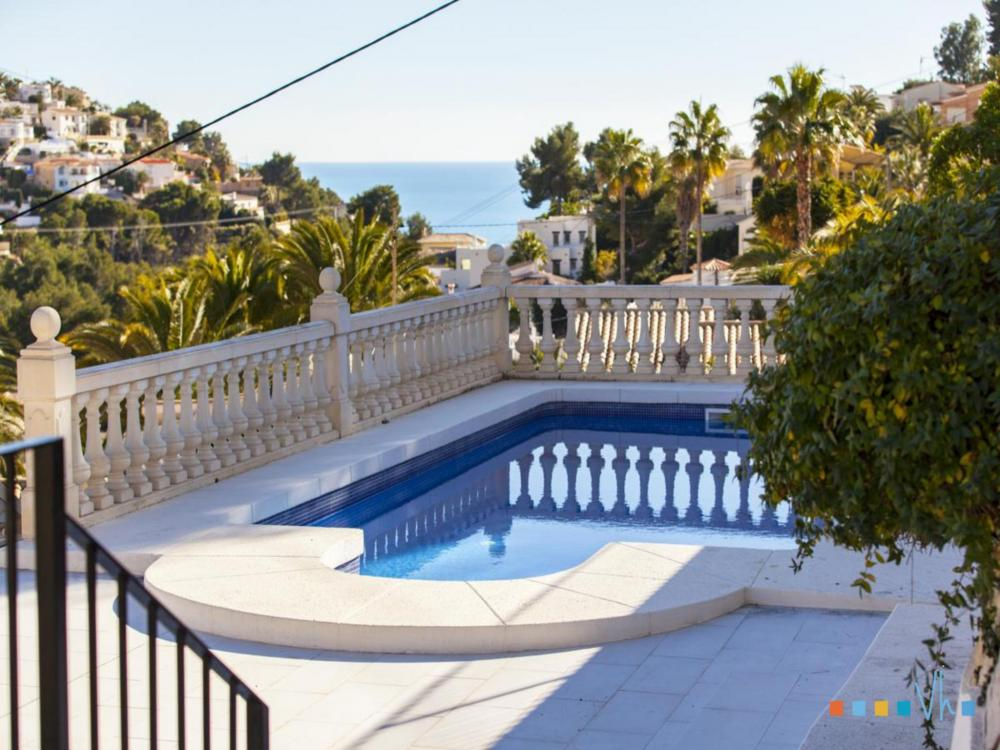 Villa ALOSA in Benissa with private pool and nice views