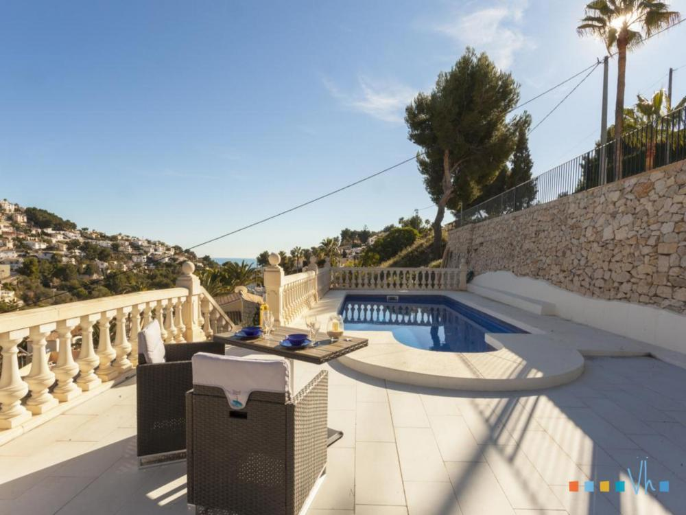 Villa ALOSA in Benissa with private pool and outside furniture