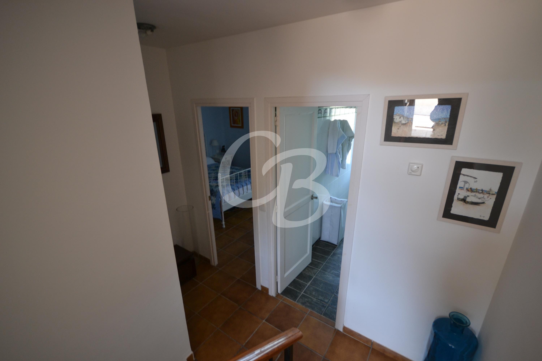 A2108 CASA ADOSADA ESQUINERA CON VISTAS AL MAR EN SA RIERA Semi-detached house Mas Mató Begur