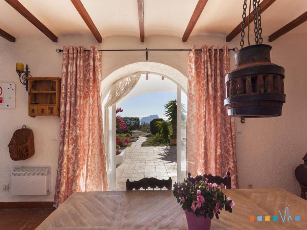 075 TRES PALMERAS Masion rurale  Moraira