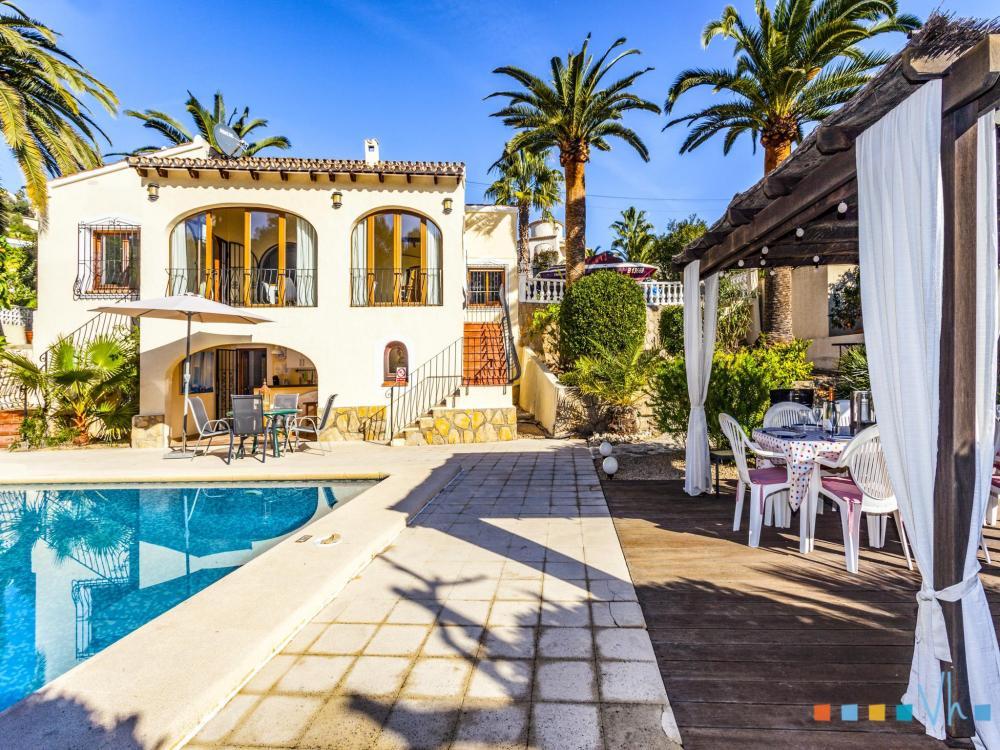 078 FLORES Villa privée Alicante BENISSA