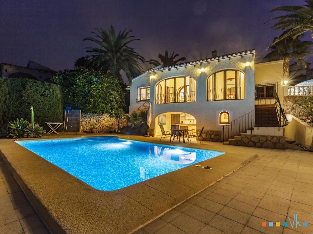078 FLORES Casa aislada / Villa Alicante BENISSA 28