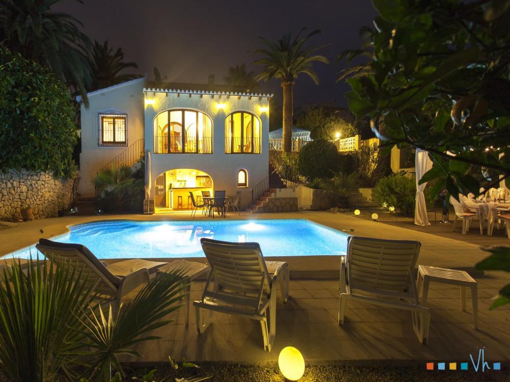 078 FLORES Casa aislada / Villa Alicante BENISSA 30