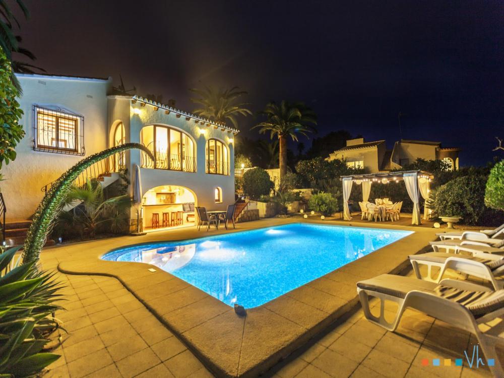 078 FLORES Casa aislada / Villa Alicante BENISSA 31