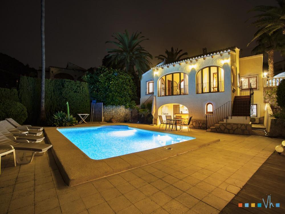 078 FLORES Casa aislada / Villa Alicante BENISSA 33
