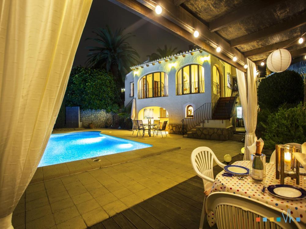 078 FLORES Casa aislada / Villa Alicante BENISSA 35