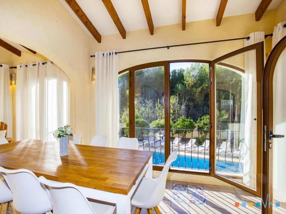 078 FLORES Casa aislada / Villa Alicante BENISSA 45
