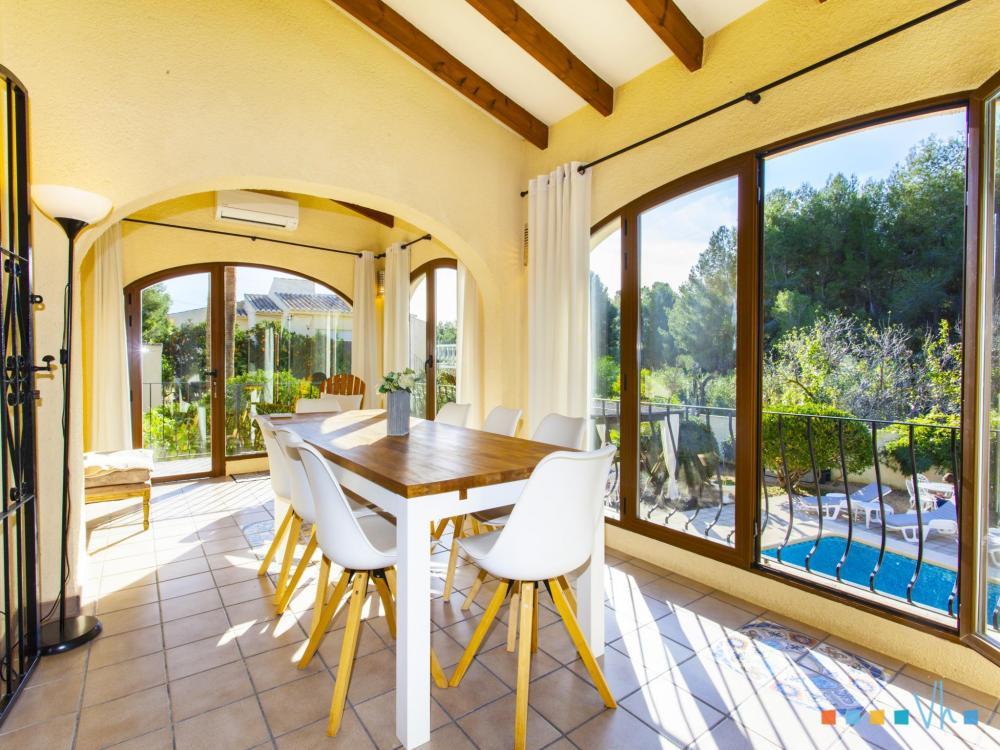 078 FLORES Casa aislada / Villa Alicante BENISSA 46