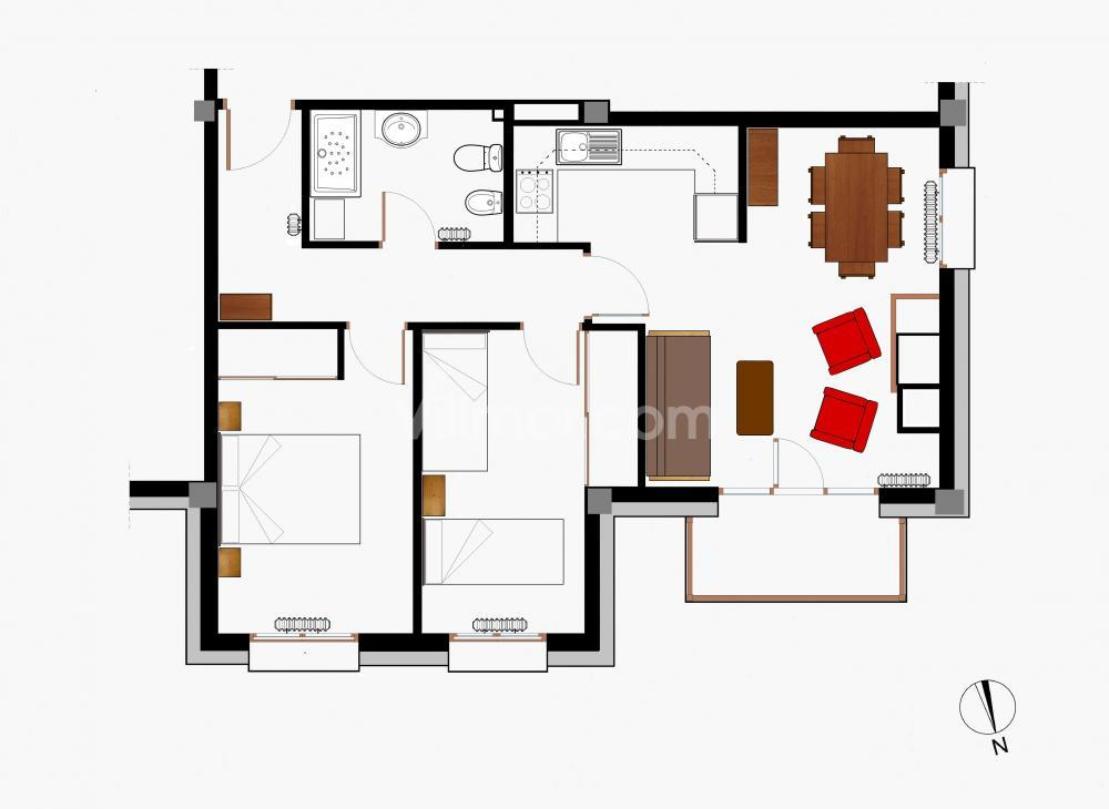 B13 B13 La Granja 2º Apartamento  Benasque