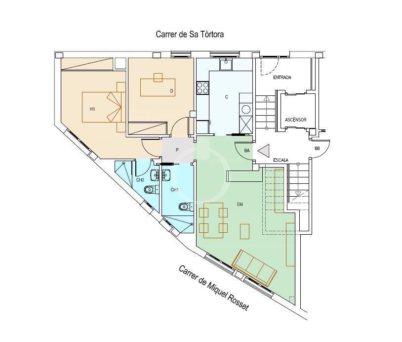 EP-19047 Apartament de nova construcció al centre de Cadaqués Apartamento  Cadaqués
