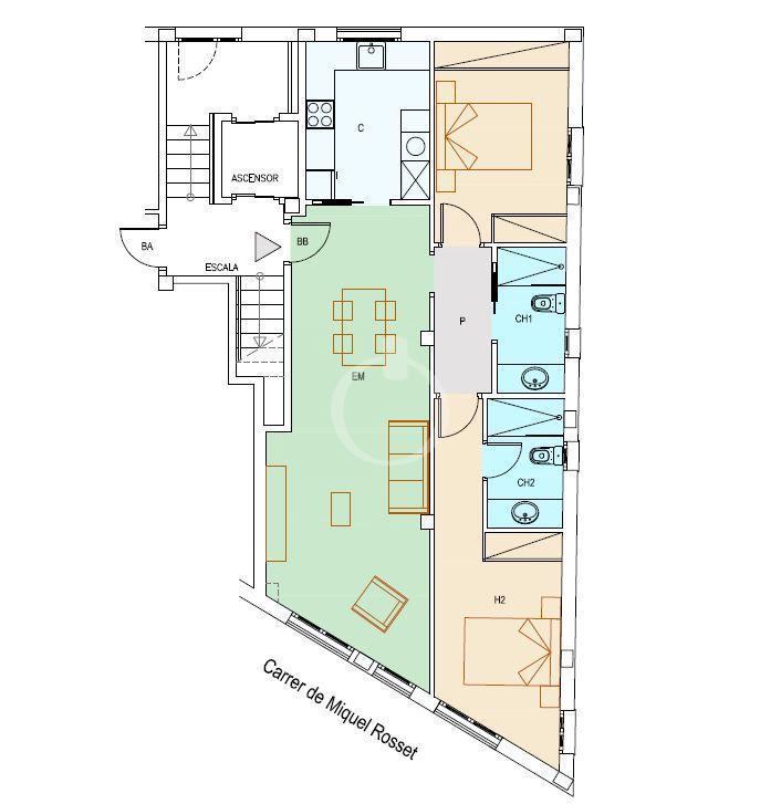 EP-19048 Apartament de nova construcció al centre de Cadaqués Apartamento  Cadaqués