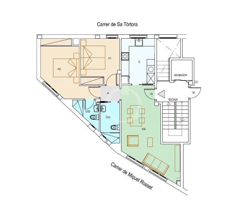 EP-19049 Apartament de nova construcció al centre de Cadaqués Apartamento  Cadaqués