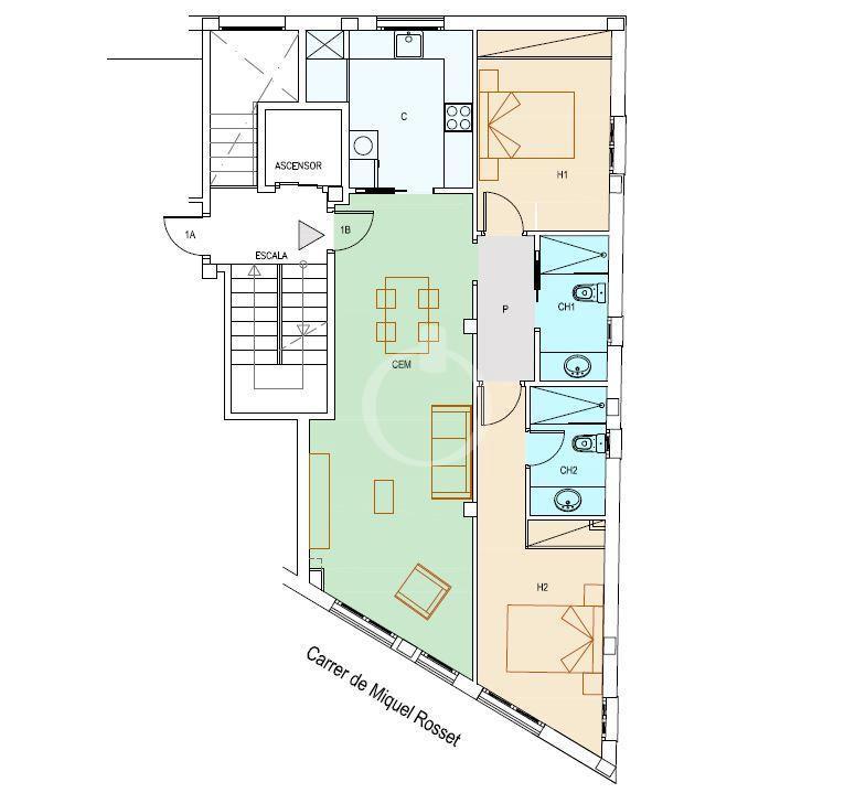 EP-19050 Apartament de nova construcció al centre de Cadaqués Apartamento  Cadaqués