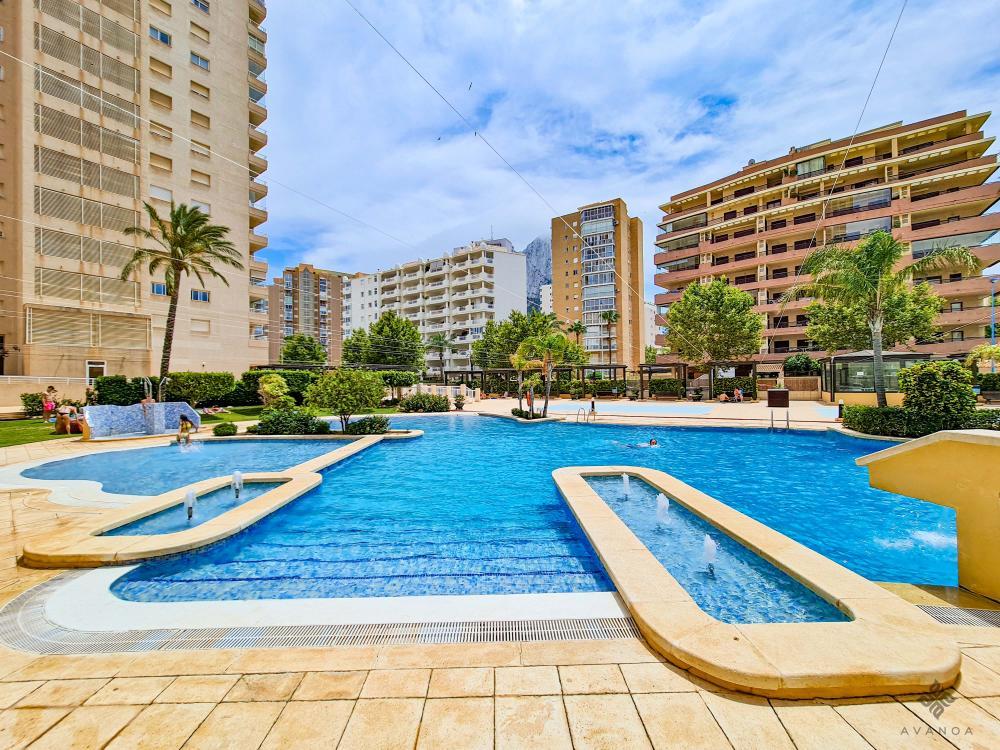 A008 APOLO XVI Apartamento Playa de La Fossa Calpe/Calp