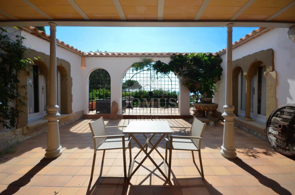 065 PATIO DE LOS LEONES Casa aïllada Casa de Camp Begur