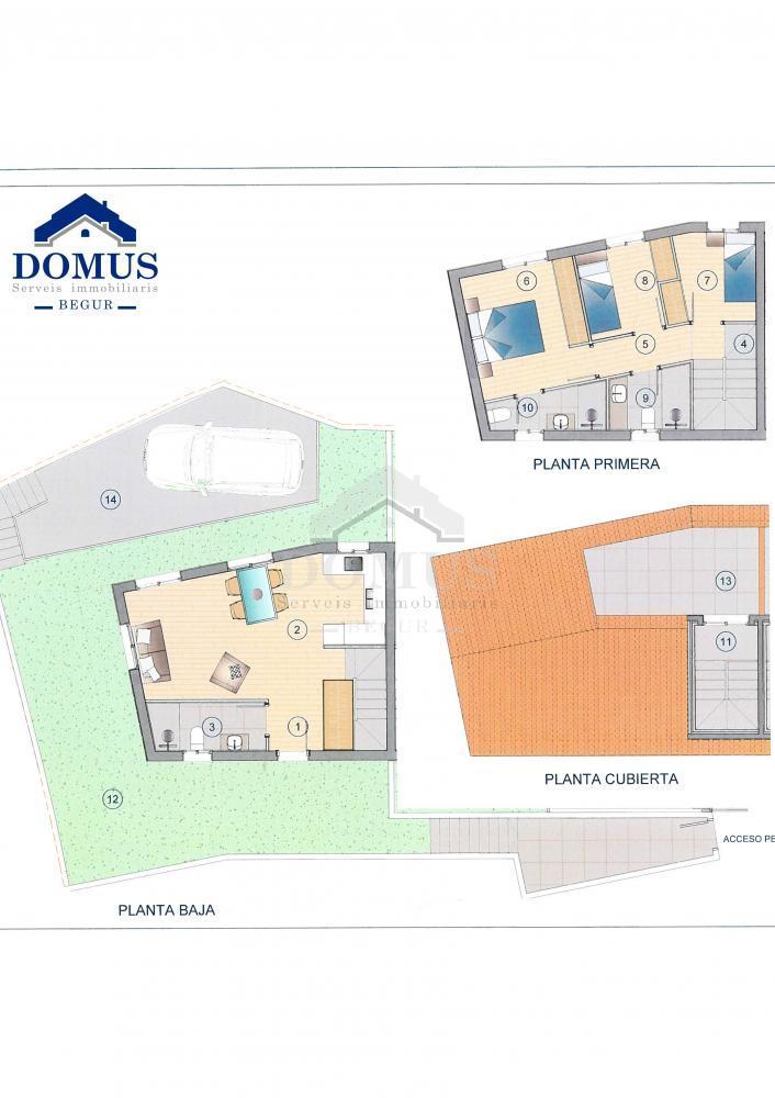 41436 Raval 2 Maison jumelée Centre Begur