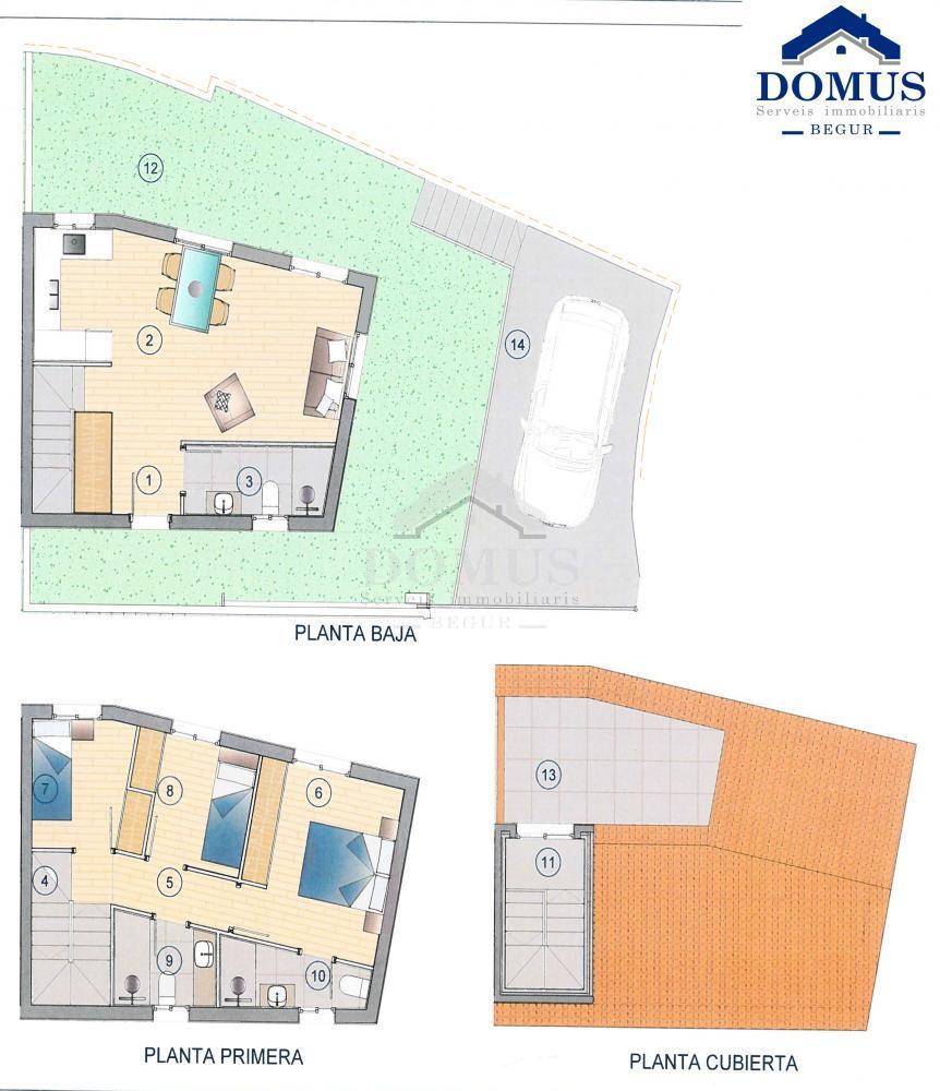 41457 Raval 1 Maison jumelée Centre Begur