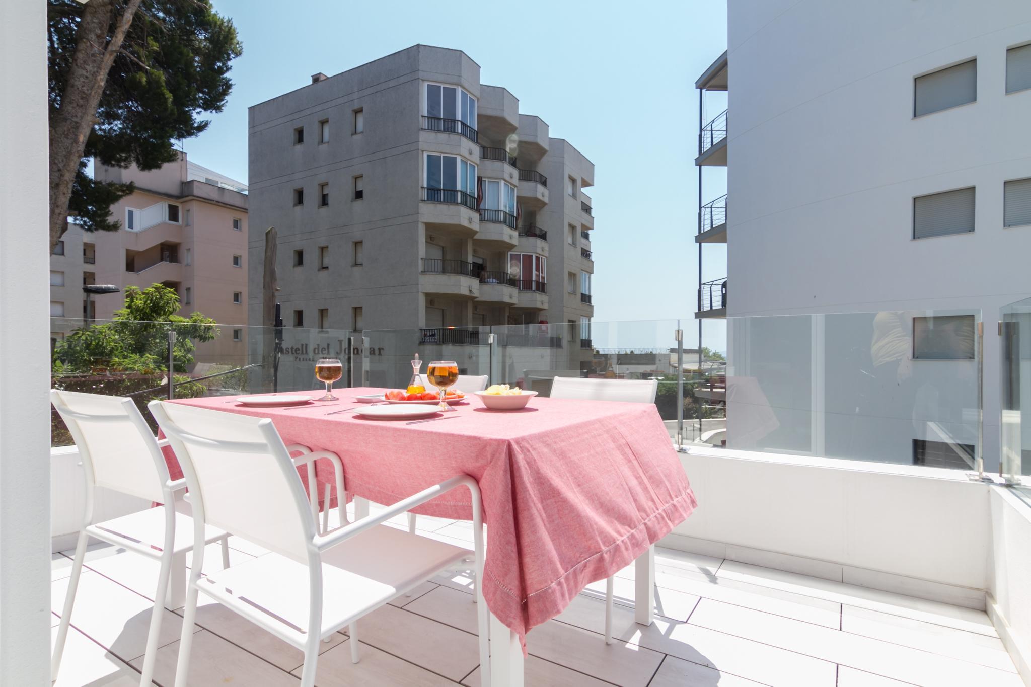 007 2 dormitoris amb terrassa Apartamento Salatà Roses