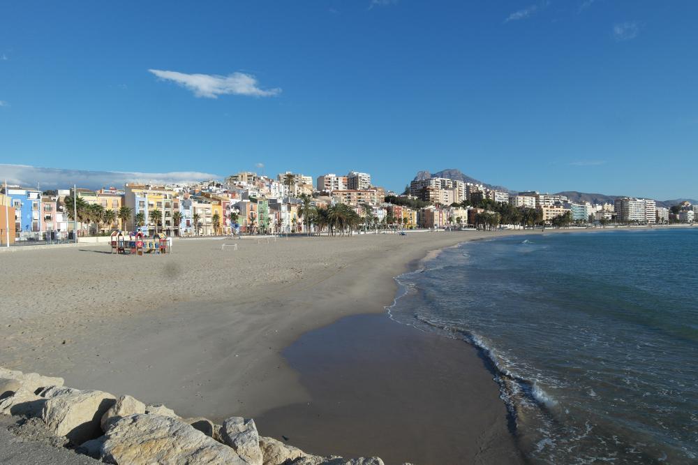MQ La Marquesa, lujo mediterráneo en 1ª línea Apartamento Playa centro Villajoyosa/Vila Joiosa (la)