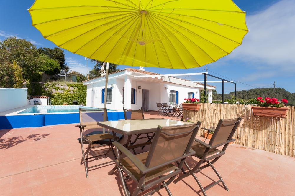 Beach Sant Pol, Maresme, near Barcelona, Private Pool, Terrace, Pitch & Putt, St. Cebria, Family vacations, Carme Ruscalleda Restaurant Sant Pau